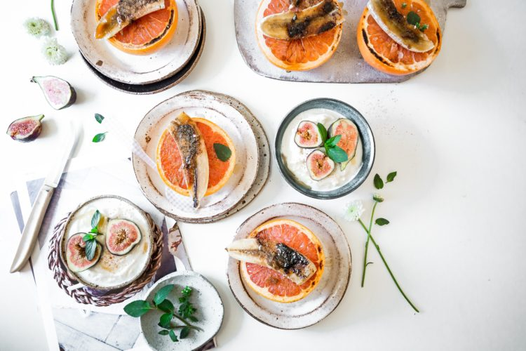 Fruits and trendy foods in small bowls - Custom Meal Plan