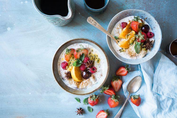 Lovely breakfast for women's hormone balancing diet
