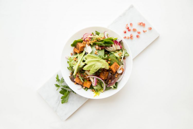 delicious lunch salad for weight loss goals