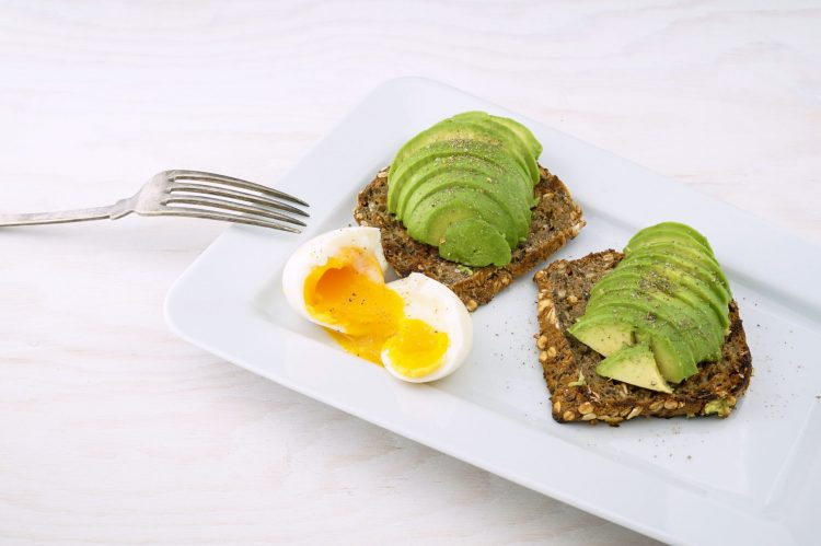 avocado egg bread for the weight loss custom diet