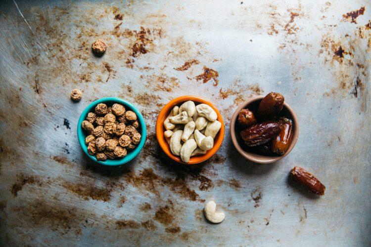 Different kind of peanut snacks